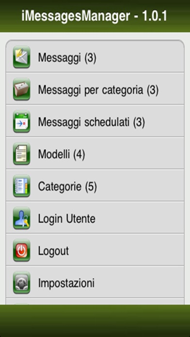 iTemplateMessages screenshot one