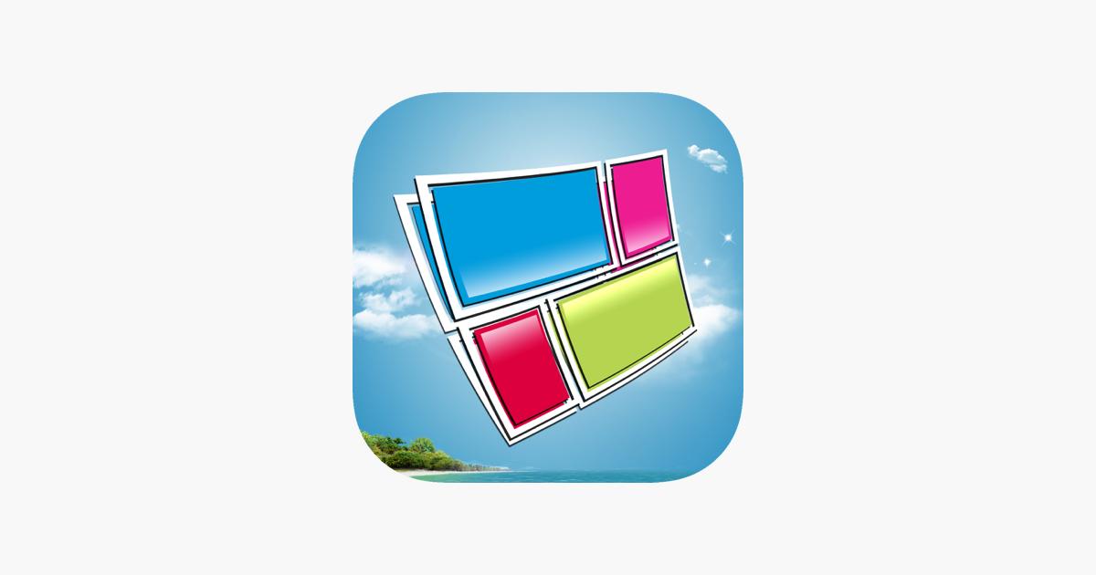 Stitch Booth - Erstellen Fotocollagen und Split-Bilder im App Store