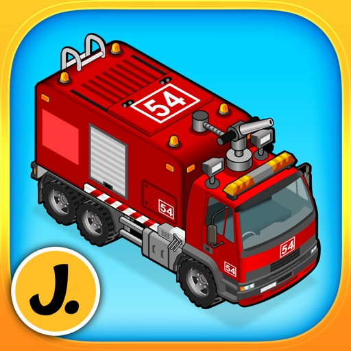 Cars, Trucks and other Vehicles - puzzle game for little boys and preschool kids