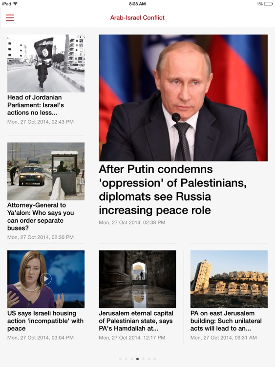 The Jerusalem Post. iPad Edition screenshot-1