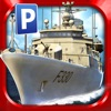 Navy Boat Parking Simulator Game - Real Army Sailing Driving Test Run Park Sim Games Ranking