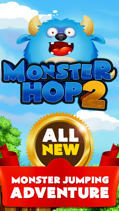 Monster Hop 2 - The Classic Squad of Dash Pets and Jump Dot Deluxe Free Screenshot on iOS