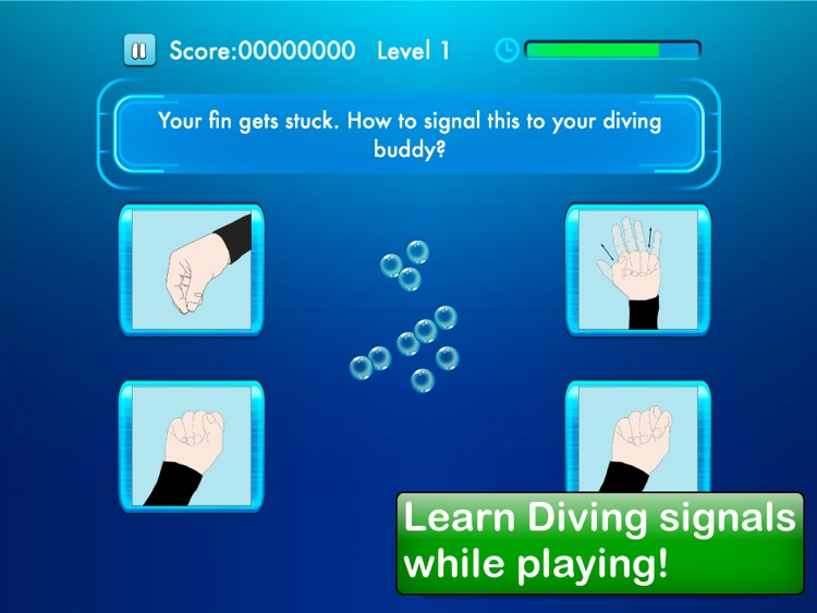 Diving quiz screenshot-0