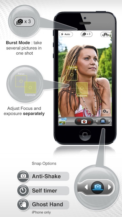 PicItEasy PRO – Burst Camera with Timer, Stabilizer and Anti-Shake