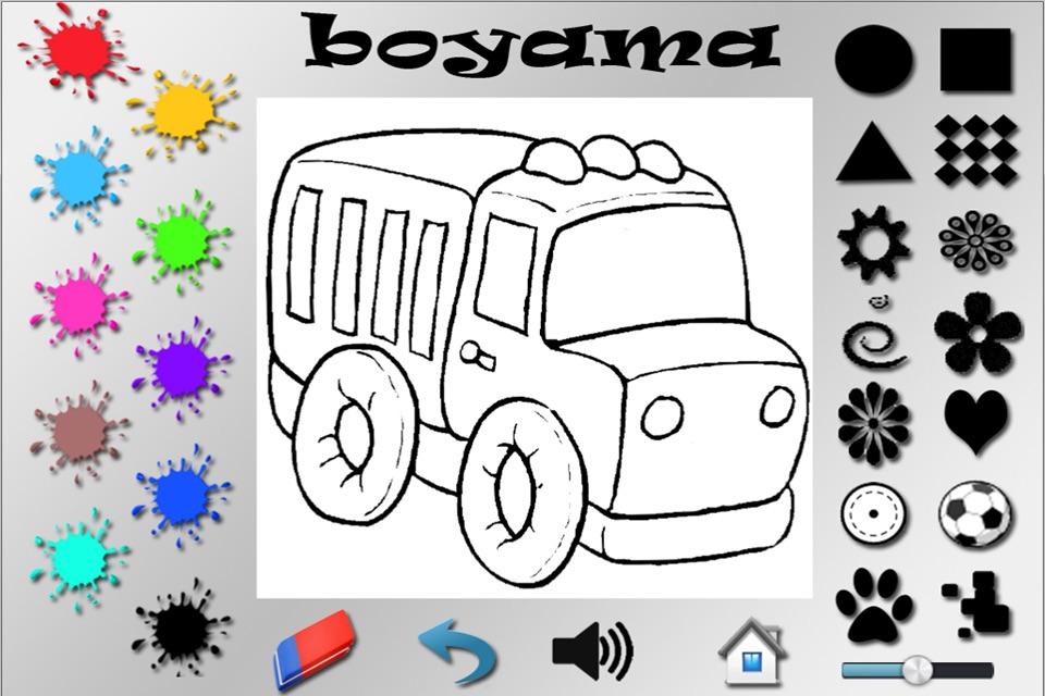 Boyama Sayfasy Motor Boyama Sayfasi