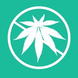 No Marijuana Calendar - Stop smoking marijuana and stop smoking weed! Save your lungs and mind