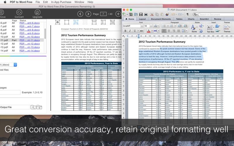 PDF to Word Free Screenshot
