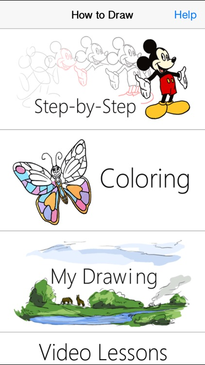 How to Draw - step by step Drawing Lessons and Coloring pages screenshot-3