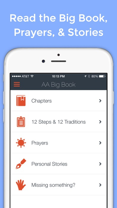 Big Book App - Unofficial Tools for Alcoholics Anonymous ...