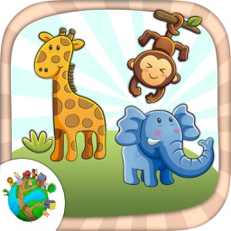 Color zoo and jungle animals - coloring books