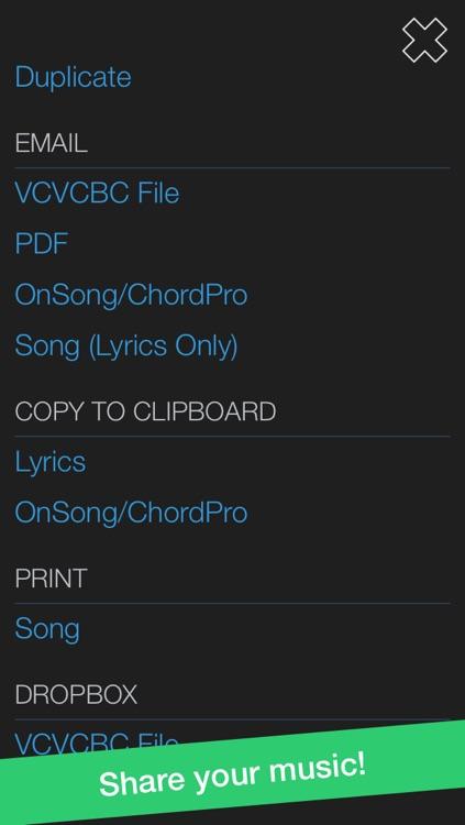 VCVCBC Songwriting Studio screenshot-4