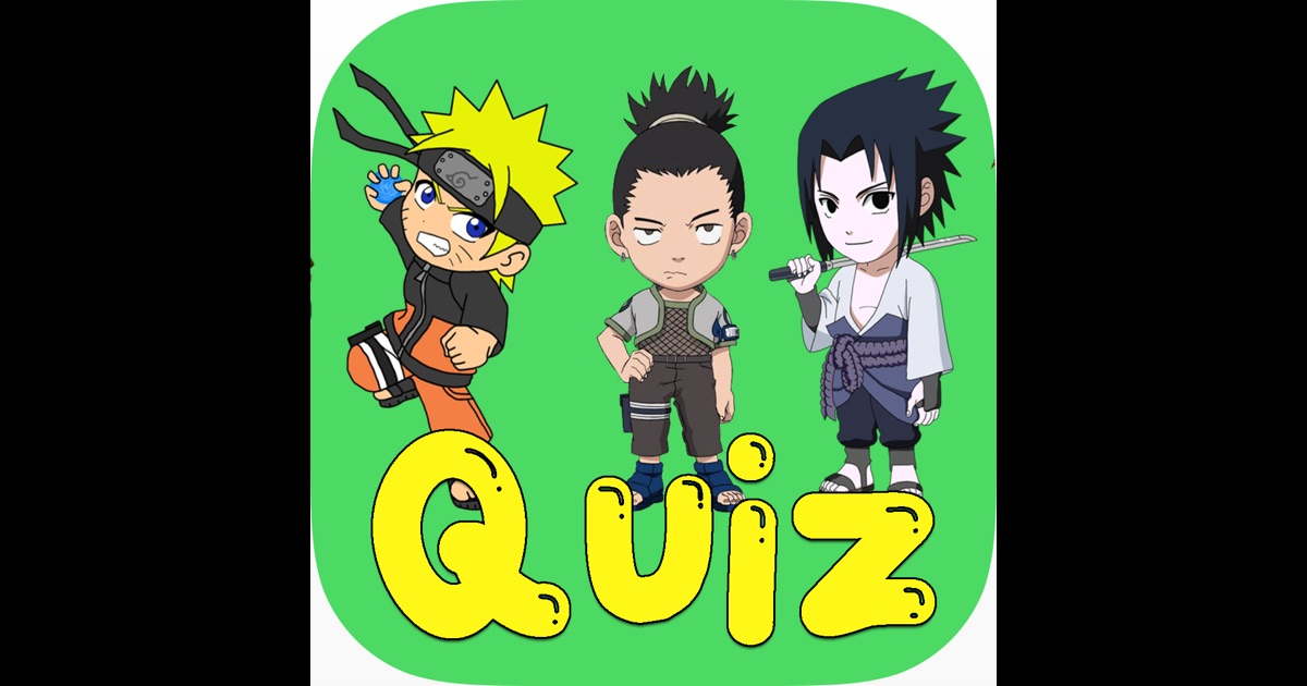 Anime Character Quiz Game : Guess the character ninja anime quiz trivia games fc