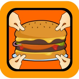 Hamburger Clickers: Yummy Order Maker Mania