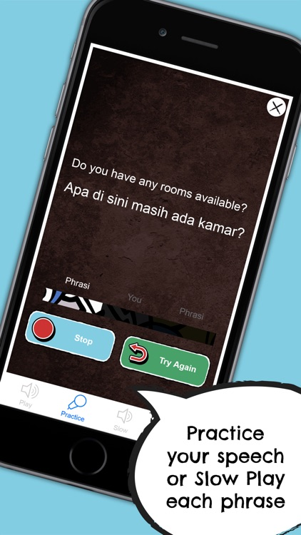 Indonesian Phrasi - Free Offline Phrasebook with Flashcards, Street Art and Voice of Native Speaker for Indonesia Travel screenshot-4