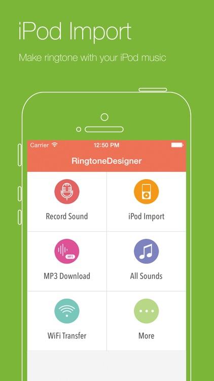 Ringtone Designer+ screenshot-3