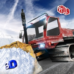 Snow Plow Excavator Sim 3D - Heavy Truck & Crane Rescue Operation for Road Cleaning