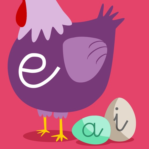 Learn to read and write the vowels in Spanish - Preschool learning games - iPhone