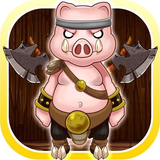 Fox Fight The Pigs Hitting Game - Rolling Cannonball Escape (Free)