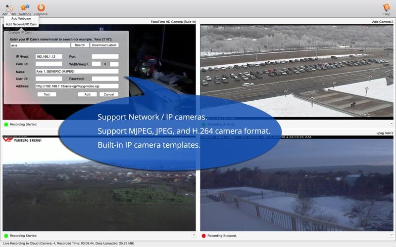 Camera DVR - OneDrive Edition Screenshot