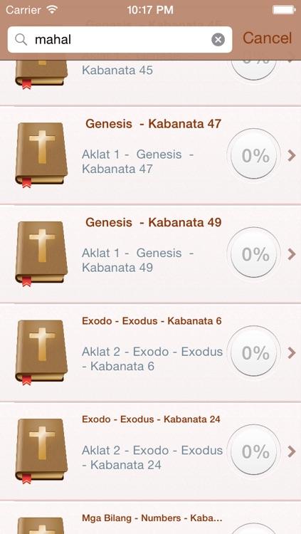 Tagalog (Filipino) Holy Bible - Banal na Bibliya screenshot-3