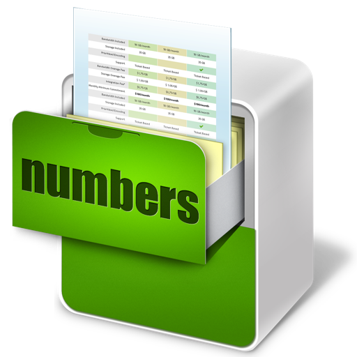 Templates for Numbers (calendar,chart,schedule,budget,business and more)