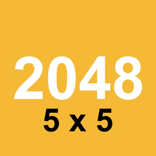 2048 5x5 Edition - Number puzzle game with Classic and Time Survival mode