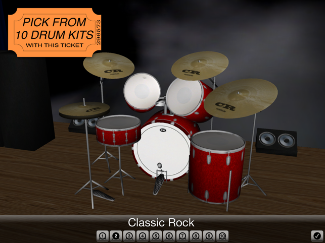 ‎Spotlight Drums ~ The drum set formerly known as 3D Drum Kit Screenshot
