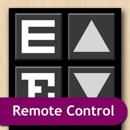 Eye Chart Premium Remote Control