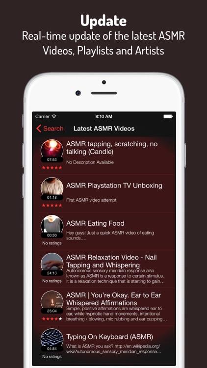 ASMR 6 - Listen, Relax and Sleep screenshot-4