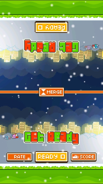 TinyFly Christmas 2014 - Xmas Flappy Racing - Multiplayer Birds Edition screenshot-0
