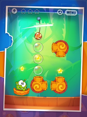 Cut the Rope: Experiments HD на iPad