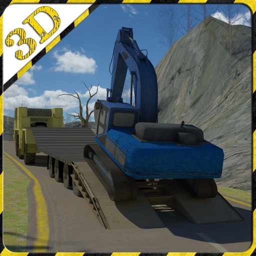 excavadora 3d rescate transportador Simulador estar listo para rescatar a los coches en este juego de alto transportador excavadora potencia extrema