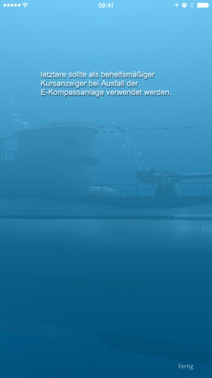 WOTA: U-Boot-Kompass Screenshot