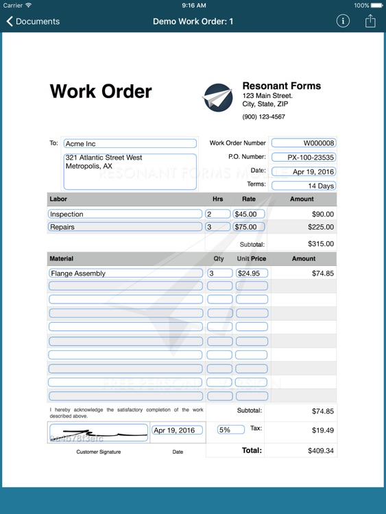 Resonant Forms Mobile screenshot-4
