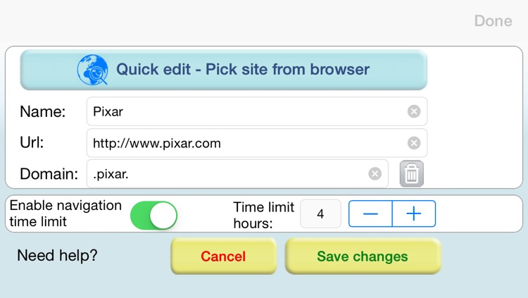 Browser for Kids Lite – Parental control safe browser with internet website filter screenshot-3
