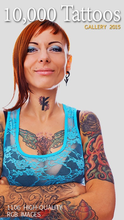 10,000 Tattoos - Gold Gallery: Skull & Dragons, Animals & Predators, Monsters & Zombies