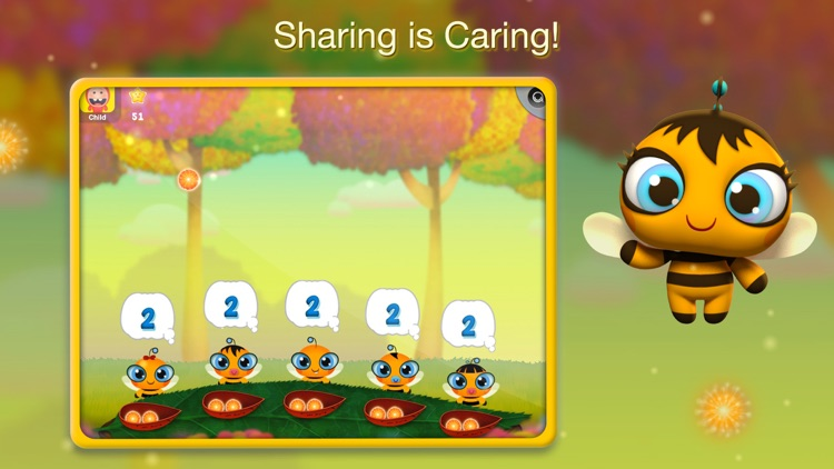 Learn Division & Multiplication by Cutie Bee for Kindergarten, First and Second Grade Boys & Girls FREE
