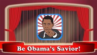 Obama Savior - Protect The President During Speech