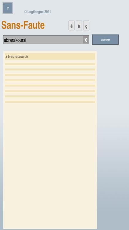 Sans-Faute_Mobile screenshot-4