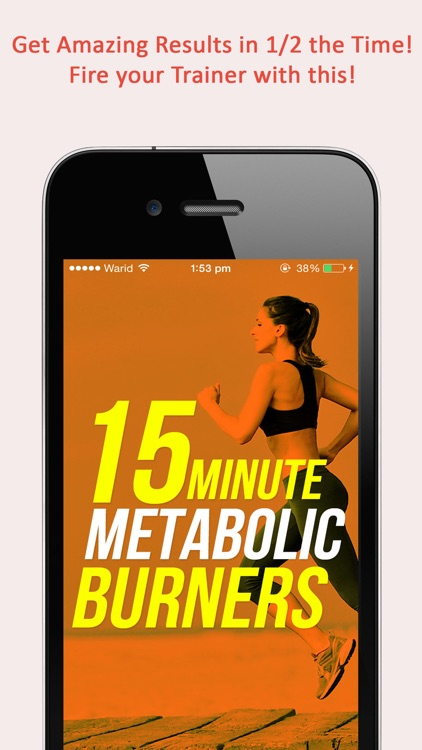 Fitgirl Metabolic Burners : 50, 15 minute weight loss workout for ladies