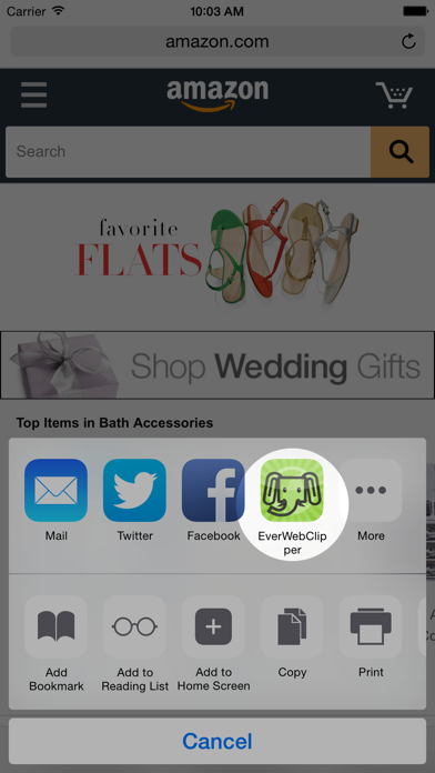 Screenshot #2 pour EverWebClipper for Evernote - Clip Web Pages