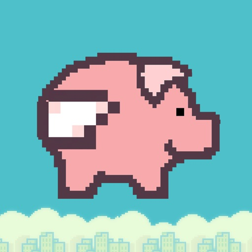 Bouncy Pig - Flappy Wings