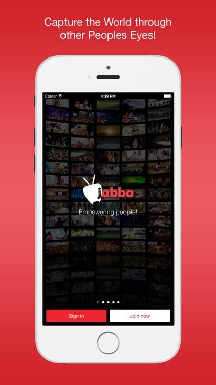 Jabba - Live Video Broadcasting