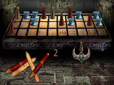 Egyptian Senet (Ancient Egypt Game Of The Pharaoh Tutankhamun-King Tut-Sa Ra)-ipad-2