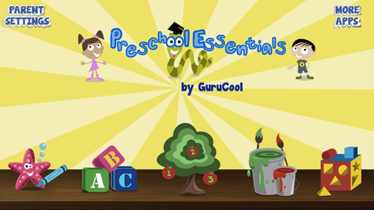 Kindergarten and Preschool educational games for kids and toddlers screenshot-0
