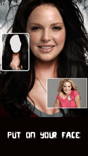 change yr face pro morph head in hole of halloween christmas pics on the app store