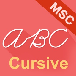 Cursive Writing HD MSC Style