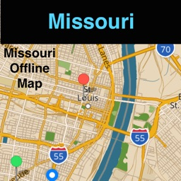 Missouri Offline Map with Real Time Traffic Cameras Pro