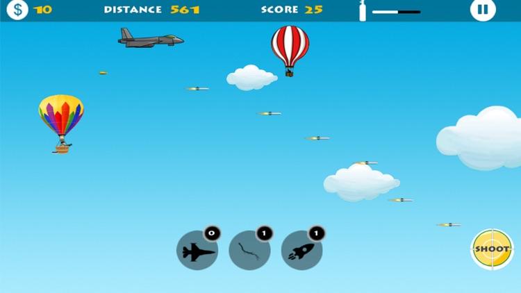 Hot Air Balloon : Flying battle behind enemy lines screenshot-4