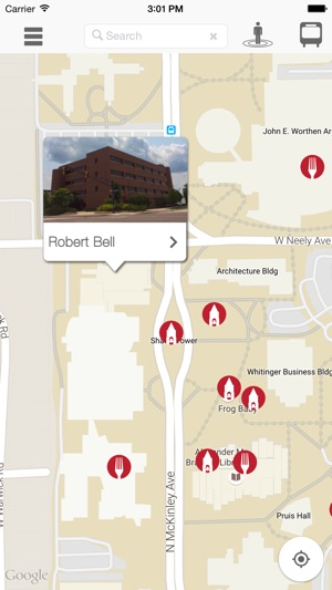 Intel Campus Map.Ball State University Campus Map On The App Store